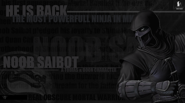 Noob Saibot wallpaper by fightersnetwork