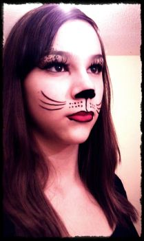 Cat Make Up by oOKessandraOo