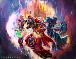 world of warcraft by paulobarrios