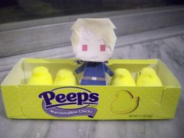 Prussia and his Peeps by HolySpork