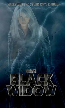 Black Widow Movie Poster (The Other Storm) by Art-Master-1983