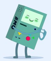 Adorable BMO! by undermate2005