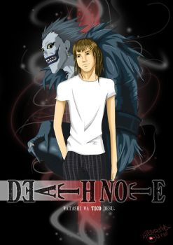 Poster Death Note by Nakashe