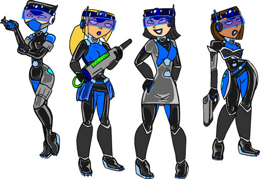 Comm: Total Drama Supersoldiers by Shennanigma