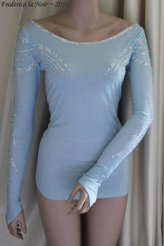 Elsa - Frozen Ice Top by Frederica-La-Noir