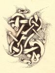 Zoomorphic knot by Abigtreehugger