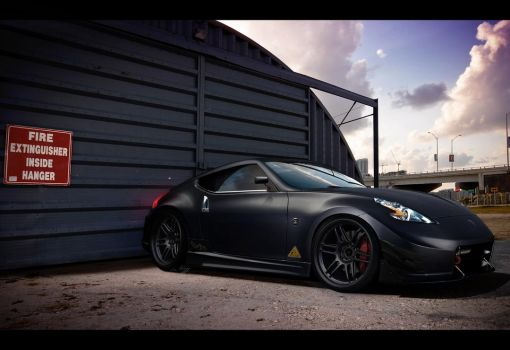 Nissan 370z matte paint by Rugy2000