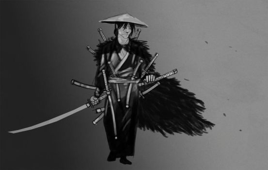 Ronin by Bored-Drawfriend