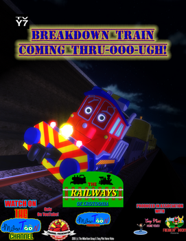 The Railways of Crotoonia| Character Poster #5 by TheMilanTooner