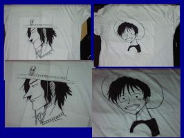 One Piece Shirt by AlphonseElric411