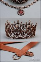 The Crown, the Insignia and the Belt by scargeear
