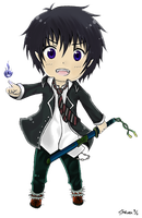 Ao no Exorcist - Rin by Reaper-Mcasaurus
