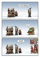 LOTR 06 - A Couple of Red Horns by Choppic