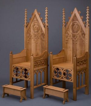 West Kingdon Thrones by iisaw