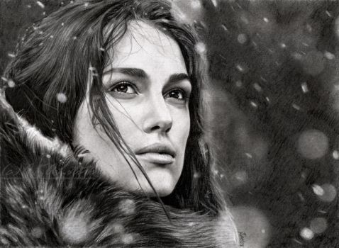 Guinevere - Keira Knightley by akaLilith