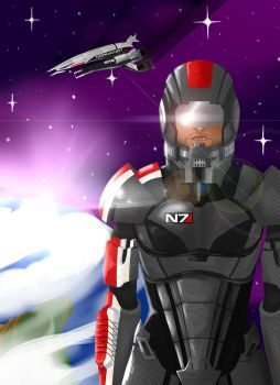 Mass Effect Sheperd  N7 Armor by Snafufun