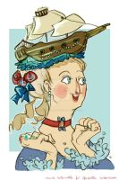 Marie Antoinette DAT HAIRSTYLE (prize) by NerinaSam