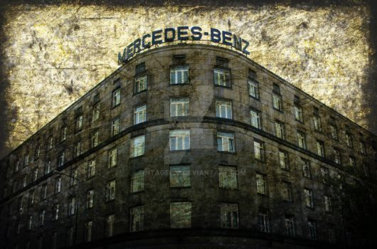 Mercedes Benz Building by Tintagel22
