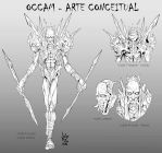 Comission: Occam Concept Art by Savedra