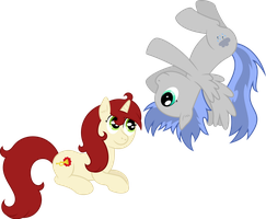 Silver And Reveille by RainbowRage12