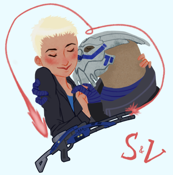 Ain't no Shep without Vakarian by loafaries