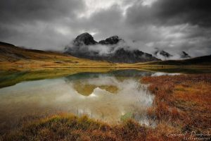 Rainy day over the Cerces by emmanueldautriche