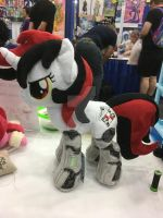 BronyCon '17 .:Comm:. - MLP 13in Robot Blackjack by RubioWolf