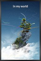 In my world - Wallpaper by optiv-flatworms