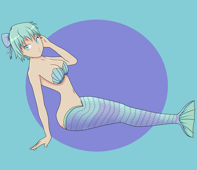 Soothing Mermaid by obnoxiouskez