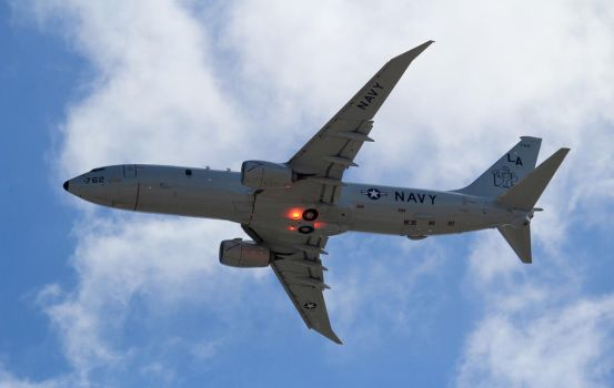 Boeing P-8A Poseidon by AnthonyC12