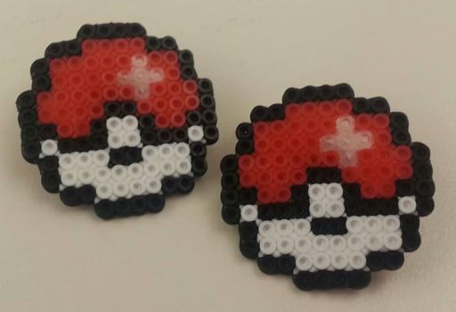 Pokeball Pins by ykansaki