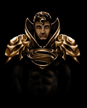 Superman Gold Edition by Get-Wicked-Designs
