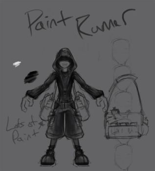 Paint Runner Pawn Concept by CDB-ART