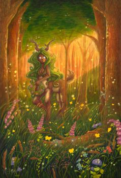 + Forest Faun + by tea-bug