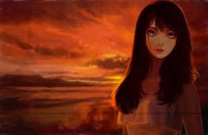See the sunrise with me by moyan