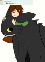 Ask Toothless 61: Reaction 1 by Ask--Toothless