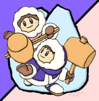 ice climbers by triaspia