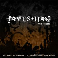 James Han Font by asianpride7625