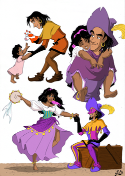 Growing Up a Little Sister - Colored by giulal
