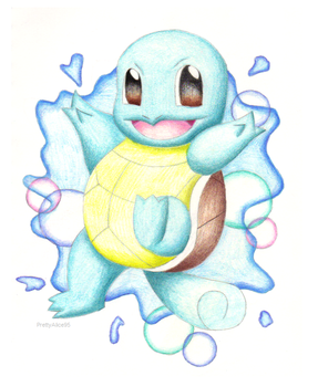 Squirtle by PrettyAlice95
