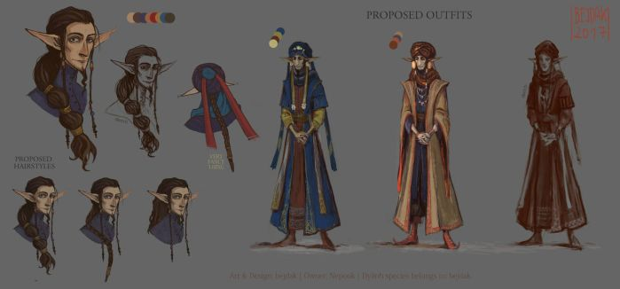 Character Design for Nepook [AT] by bejdak