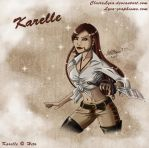 Karelle the pirate by ClaireLyxa