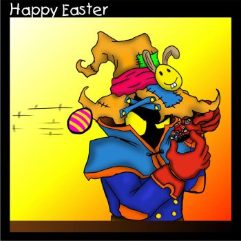 Happy Easter by Scorpius007