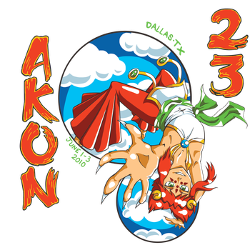 A-kon 23 T-shirt submission 1 by specctheimpailer