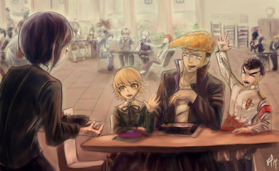 Lunchtime by kirikaito