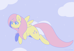 fly, yellow quiet by DaikaLuff