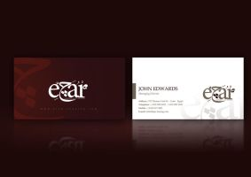 Ejar Business Card Design by beshoywilliam