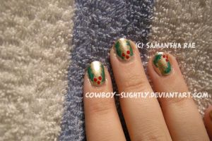 Holly and Gold: A Christmas Eve Manicure by Cowboy-Slightly