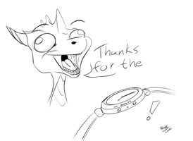 Thanks for the watch! by NinjAinBox