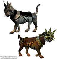 Armored Cat png stock 1 by Direwrath